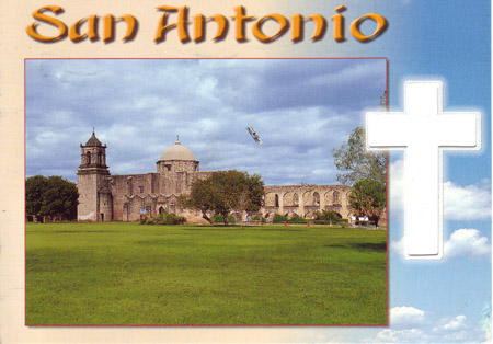 Postcard of the Week: San Antonio