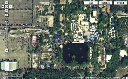 Starling Travel Lagoon Aerial Photo