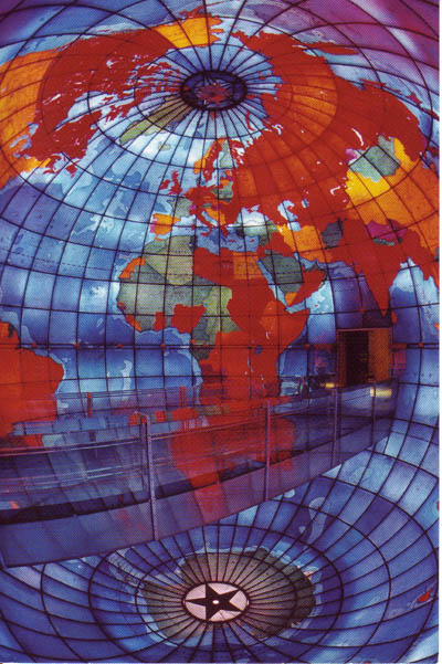 The Mapparium in Boston, MA