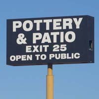 Pottery & Patio World at the Sloan Exit in Nevada