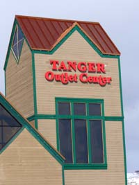 The Tanger Outlet Mall