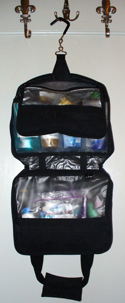 My toiletry bag