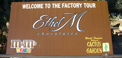 Starling Travel » Small Pleasures Week: Ethel M Chocolate Factory ...