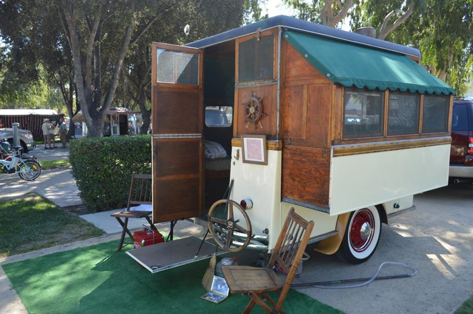 photos Vintage camper home made
