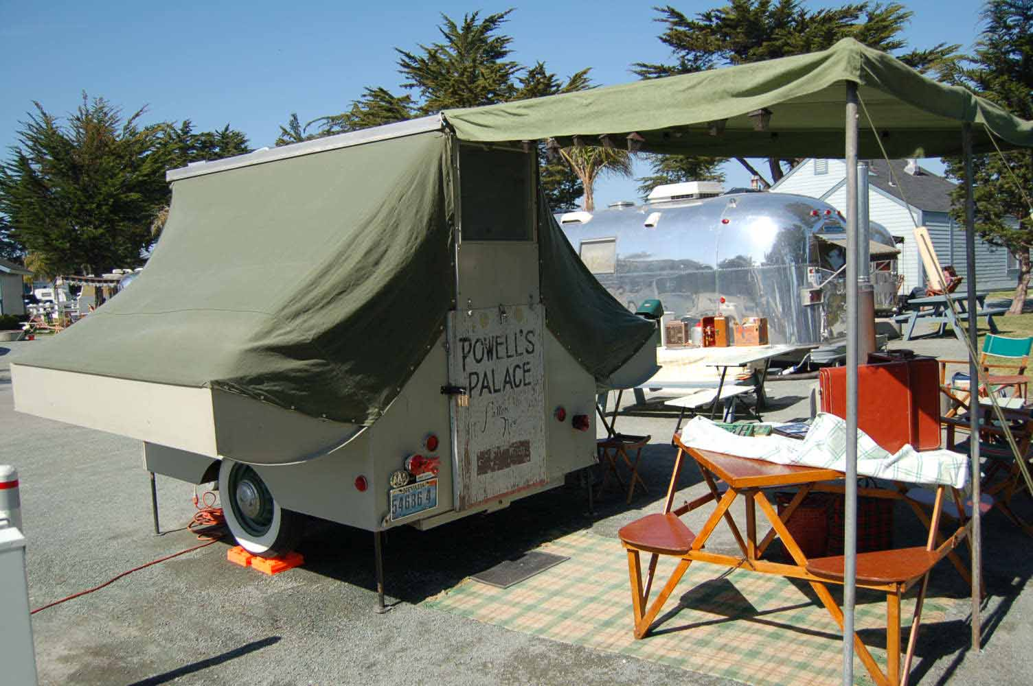 Starling Travel 187 Powell S Palace Tent Trailer