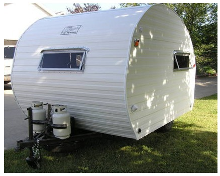 1963 Little Gem Bug Camper Trailer