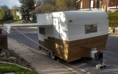 1968 Travel Trailer from Starling Travel