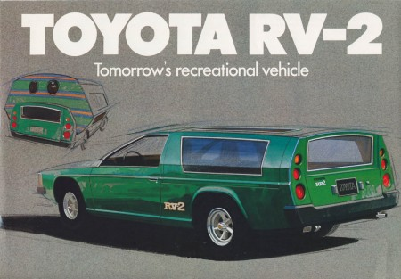1972 Toyota RV-2 brochure