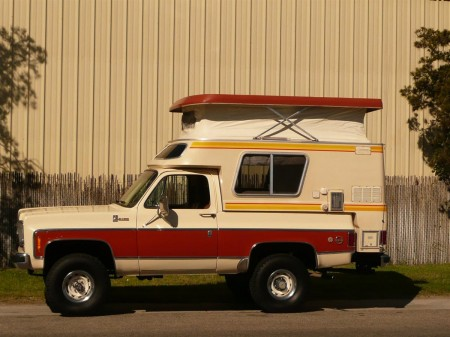1976 CHEVROLET BLAZER CHALET CAMPER Side Profile