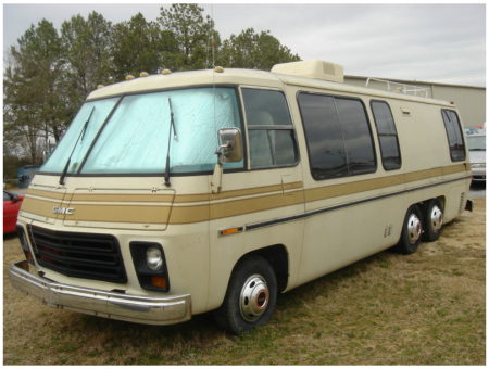 1976 GMC Eleganza II on eBay from Starling Travel