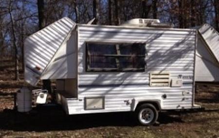 1993 Ames Amerigo 14'  M-145 trailer from Starling Travel