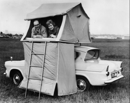 50s Car Top Tent from Starling Travel