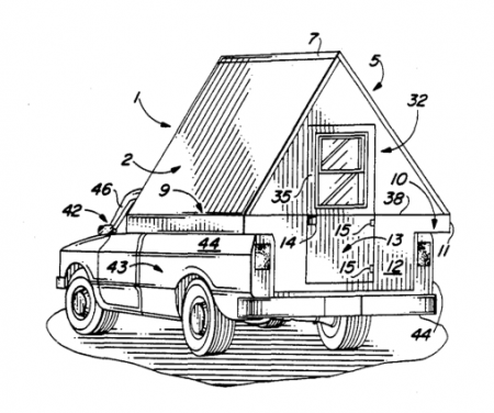 A-Frame Camper for Pickup Trucks from Starling Travel