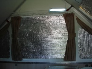 A-Frame Reflectix Insulation