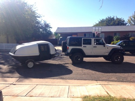 A Jeep and A Teardrop from Starling Travel