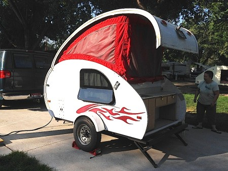 A-Liner Lil Demon Teardrop Trailer from Starling Travel