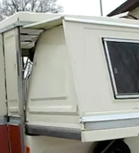 Apache Hardside Popup Camper Bunk Ends from Starling Travel