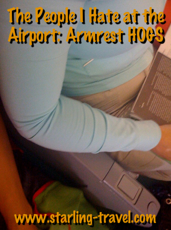 Armrest Hogs from Starling Travel