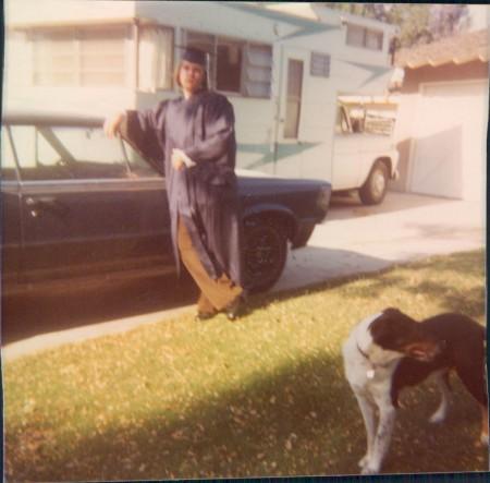 Kamp King Koach Camper GTO Hugh Barker and Fred the dog