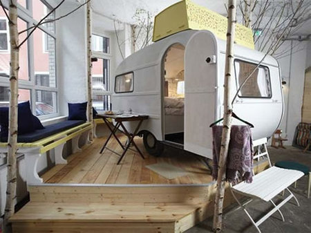 Camper Hotel Room in Berlin from Starling Travel