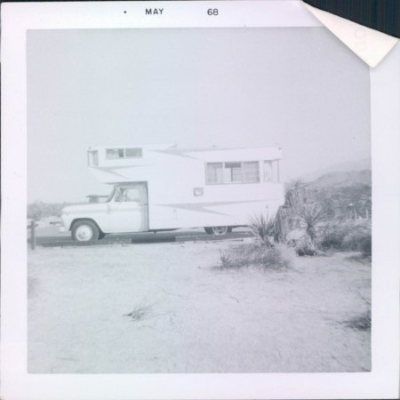 Kamp King Koach Camper in Joshua Tree National Park