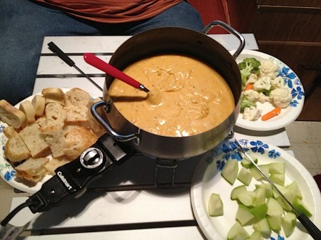 Camping Fondue from Starling Travel