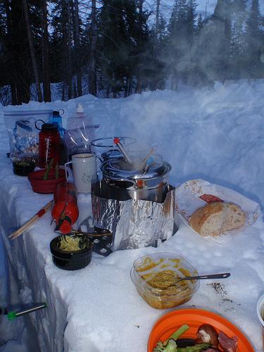 Camping Fondue