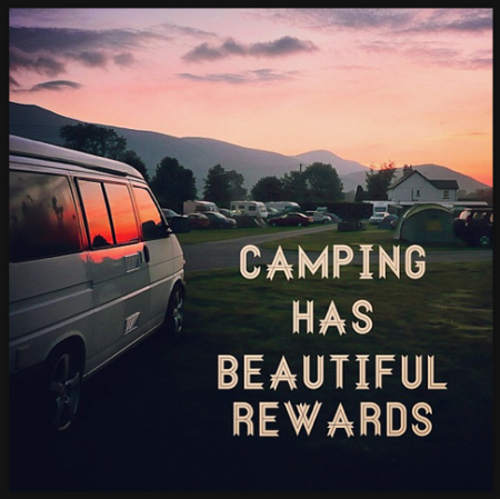 Camping Has Beautiful Rewards