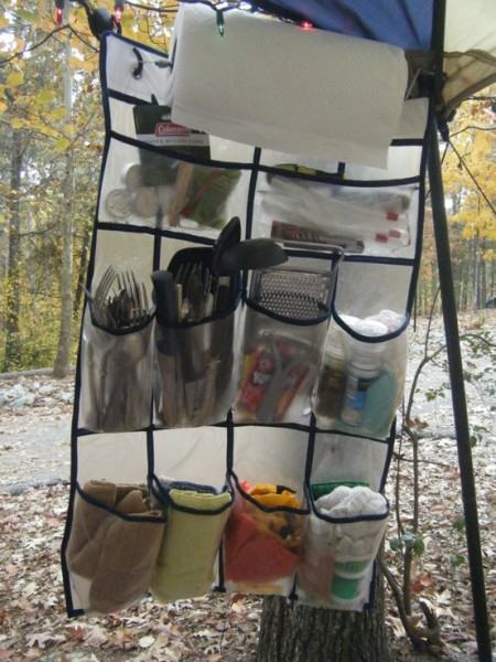Camping Kitchen Organizer