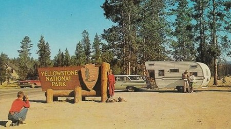 Camping in Yellowstone from Starling Travel