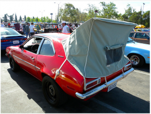 Car Tent on a Ford Runabout