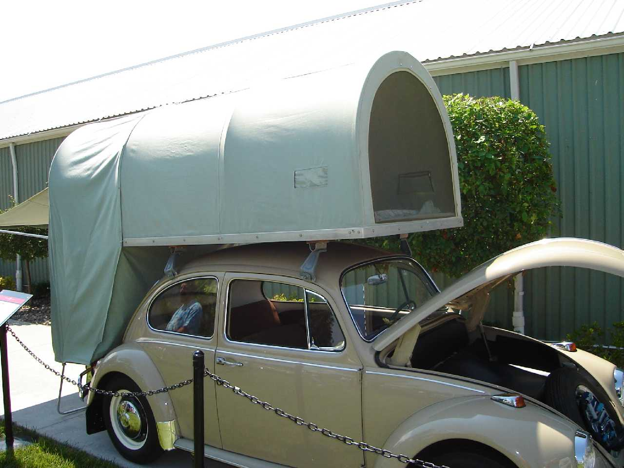 Car Roof Top Tent : Starling travel the carbak cartop tent camper