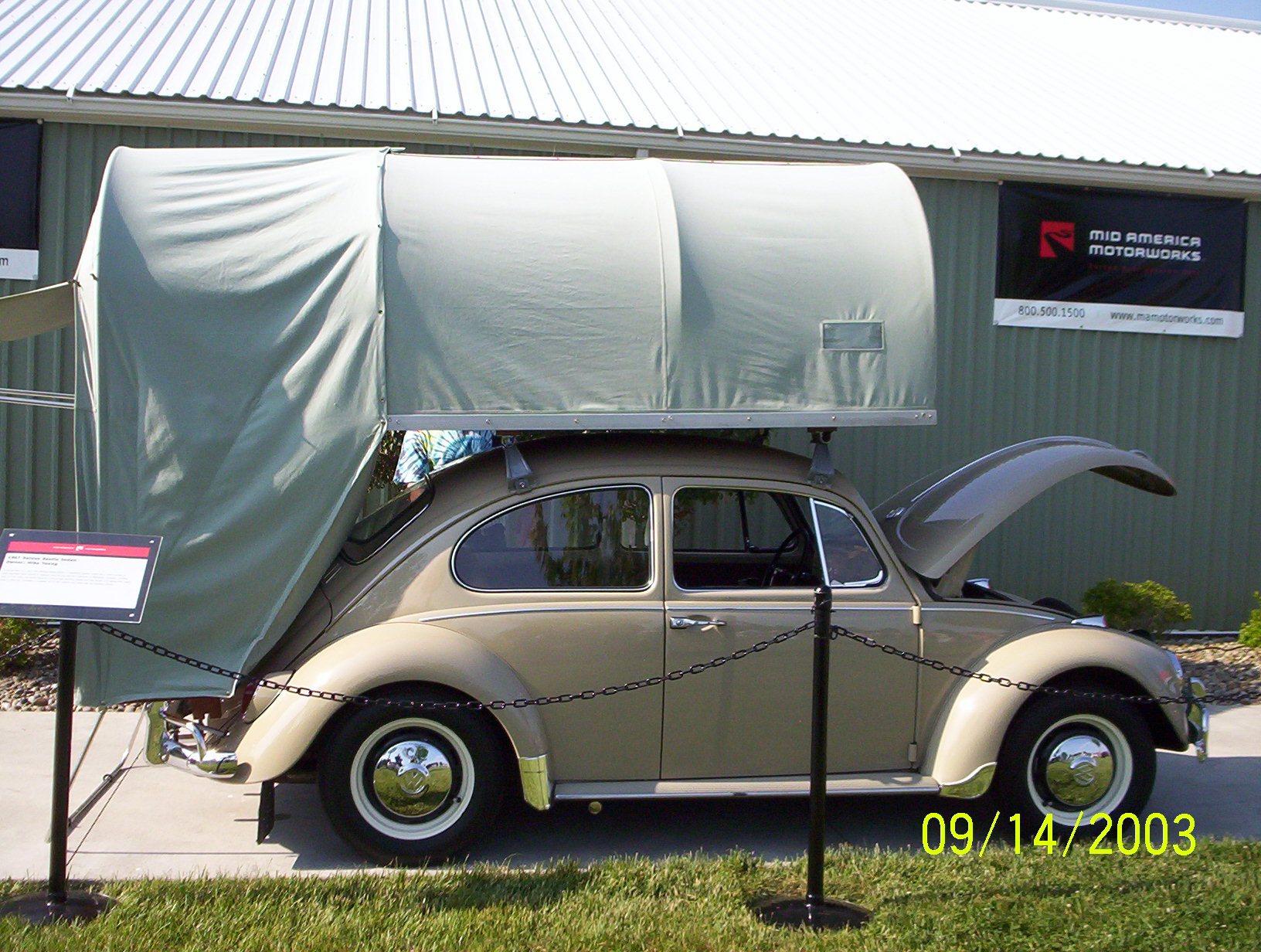 Carbak Cartop Tent C&er on a Beetle from Starling Travel & Starling Travel » The CarBak Cartop Tent Camper