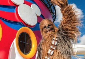 Chewbacca on Disney Cruise Lines from Starling Travel