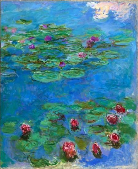 Claude Monet Water Lilies 1914–1917