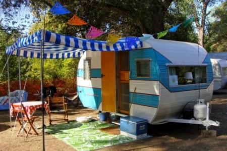 Cute Camping Trailer
