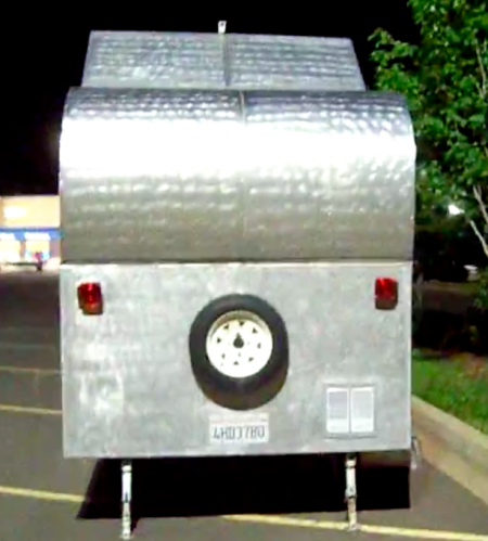 DIY Pop Up Teardrop Trailer Camper