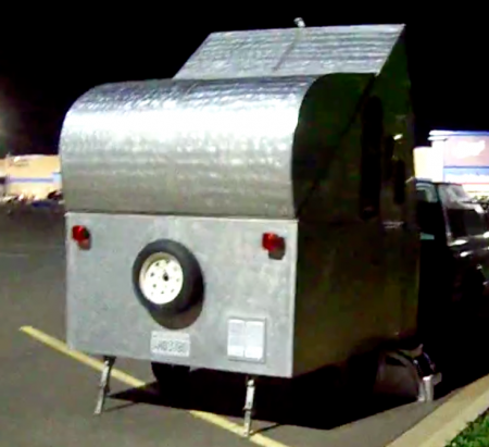 DIY Pop Up Teardrop Trailer Camper