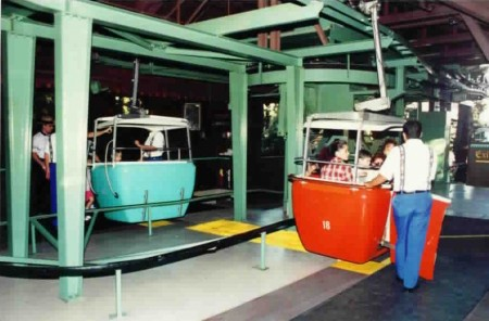 Defunct Disneyland Skyway Ride from Starling Travel