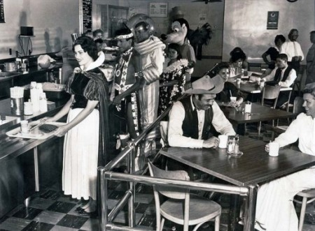 Disneyland Backstage Cafeteria 1961