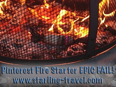Firestarter Pinterest EPIC FAIL from Starling Travel