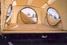 Flip-Pac Camper from Starling Travel