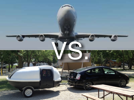 Flying Vs. Teardrop Trailer from Starling Fitness