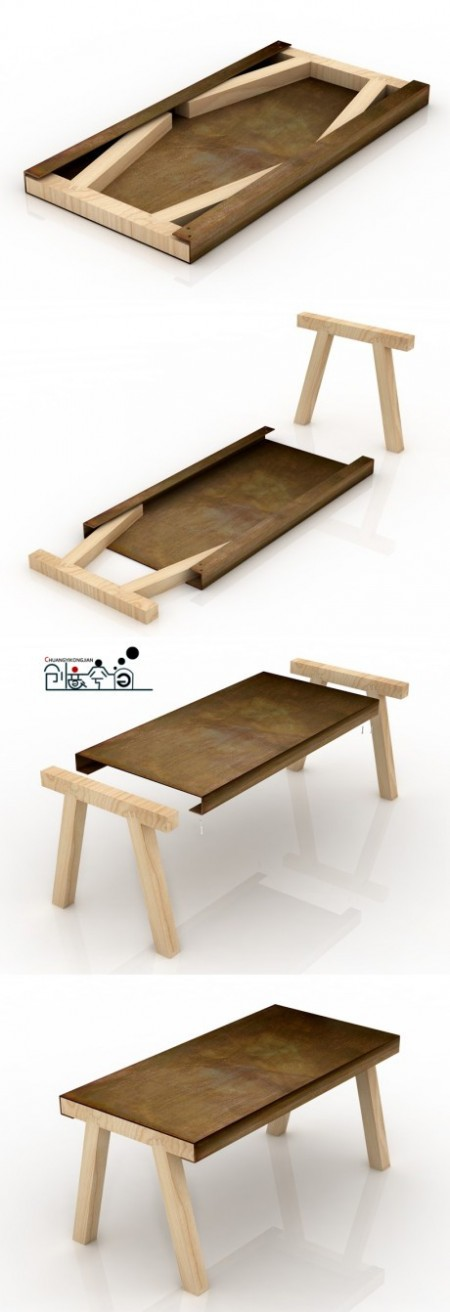 Foldable Table on Starling Travel