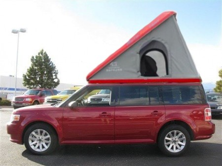 Ford Flex Clamshell Auto Tent from Starling Travel