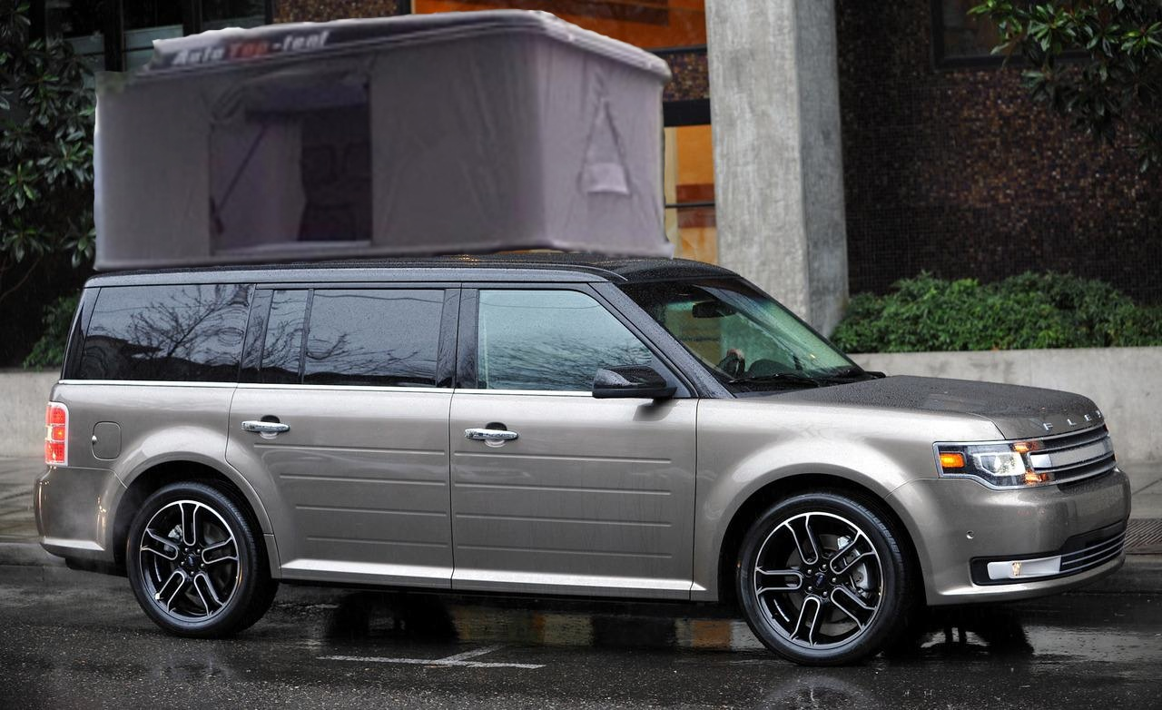 Ford Flex Square Auto Tent from Starling Travel & Starling Travel » Upal Auto Tent with a Ford Flex: Could Be The ... markmcfarlin.com
