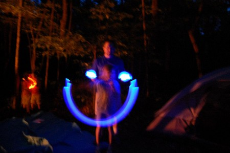 Glowstick Photography from Starling Travel