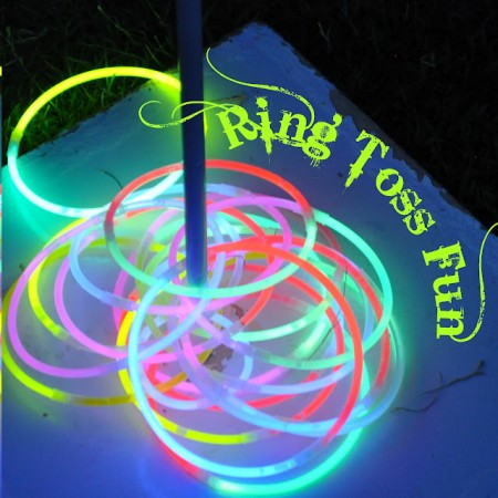 Glowstick Ring Toss from Starling Travel