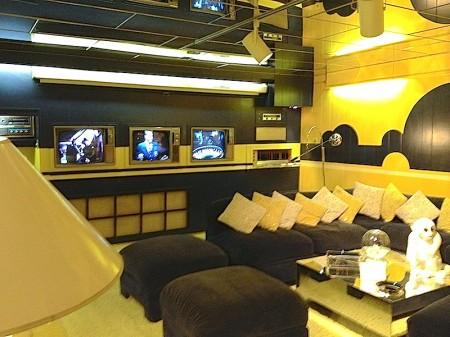 Graceland 3 TV Rec Room Basement