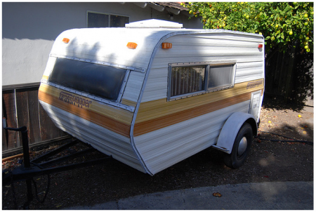 Grasshopper 1979 Teardrop Trailer